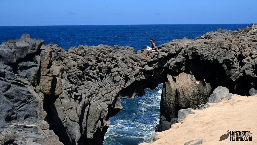 Die Arcos Majapolas auf La Graciosa